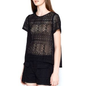Joie Sevan Lace Top